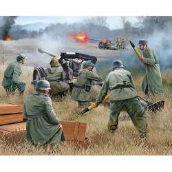 German 7,5 cm PaK 40 and soldiers. REVELL 02531
