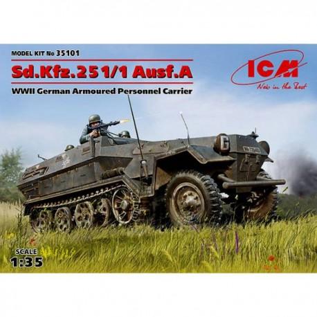 Sd.Kfz.251/1 Ausf.A. ICM 35101