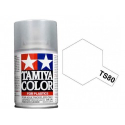 Barniz en spray mate. TAMIYA TS-80