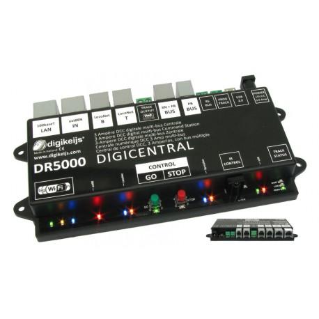 DCC Multi-bus central. DIGIKEIJS DR5000-ADJ