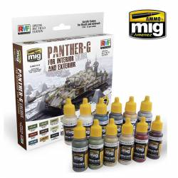 PANTHER-G Colors Set for Interior and Exterior Set.