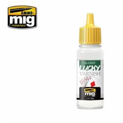 Glossy lucky varnish, 17 ml. AMIG 2057