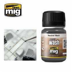 Enamel Wash: Neutral wash. 35 ml. AMIG 1010