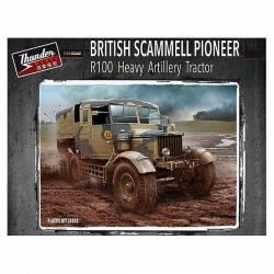 Tractor británico Scammell R100 de artillería. THUNDER 35202