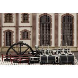 Steam engine. FALLER 180383