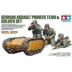 German assault pioneer team. TAMIYA 35357