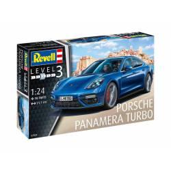 Porsche Panamera Turbo. ITALERI 07034