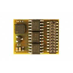 21 pins decoder for RENFE 1300. MABAR DH21A313