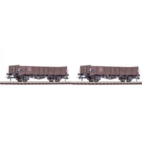 Set de dos vagones góndolas, SNCF. ROCO 76111