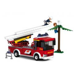 Ladder truck. SLUBAN B0625