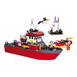 Fire boat. SLUBAN B0630