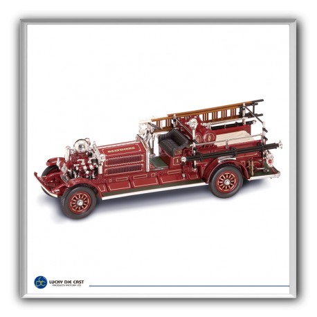 Ahrens Fox NS4 fire engine. YATMING 43004