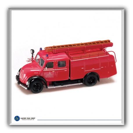 Camión de bomberos: Magirus TLF16. YATMING 43010