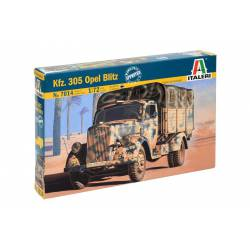 Camión militar Opel Blitz Kfz. 305. ITALERI 7014
