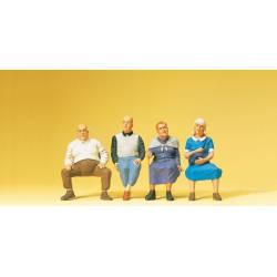 Personas sentadas. PREISER 65351