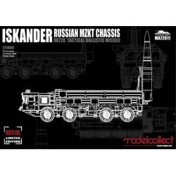 Russian 9K720 Iskander-M Tactical. MODELCOLLECT MA72011