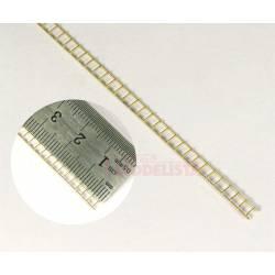 Escalera metálica preformada, 160 mm. ANESTE 9301