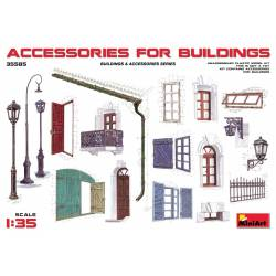 Accessories for buildings. MINIART 35585