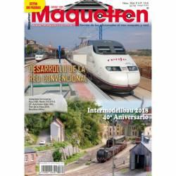 Revista Maquetren, nº 304. Junio 2018. Extra 100 páginas
