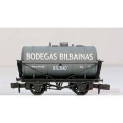 """Cisterna """"Bodegas Bilbainas""""."""