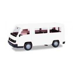 Furgoneta MB 100D, blanca. HERPA 012317-004