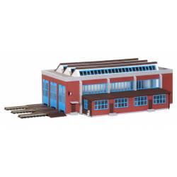 Electric locomotives shed. KIBRI 37806