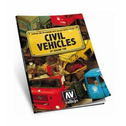 Painting and weathering civil vehicles.