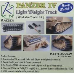 Panzer IV Track (Light weight). KAIZEN Kz-Pz-400LW
