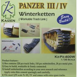 Panzer III/IV Track (winter version). KAIZEN Kz-Pz-400W