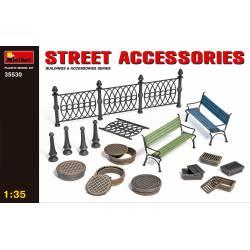 Street accessories.