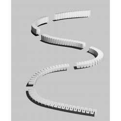 Sistema de rampas para vías, inclinación 3.