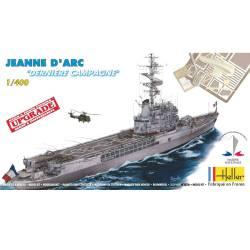 "Crucero portahelicópteros francés ""Jeanne D'Arc""."