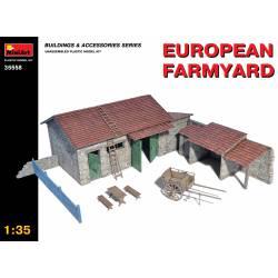 European farmyard.