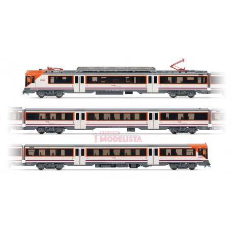 Electric railcar RENFE 470, Operadora. Sound.