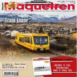 Revista Maquetren, nº 280.