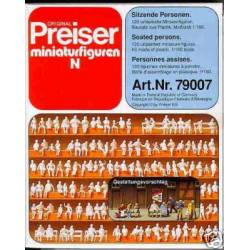 120 seated persons. PREISER 79007