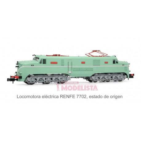 Locomotora 7702 (versión origen). Sonido.