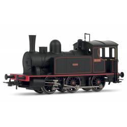 """Locomotora de vapor 030-0233 """"Caldas""""."""