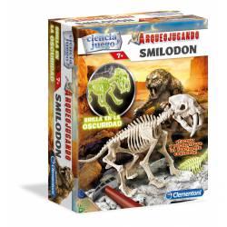 Kit de excavación: Smilodon. CLEMENTONI