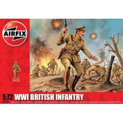 Infantería británica, WWI.