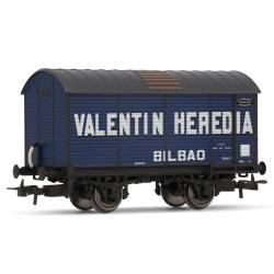 "Wine transport wagon ""Valentín Heredia""."