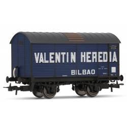 """Vagón fudre """"Valentín Heredia""""."""