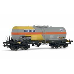"Vagón cisterna ""Saltra"", RENFE."