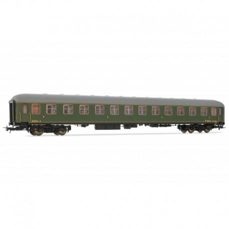 2nd class coach, BB 8562. RENFE.