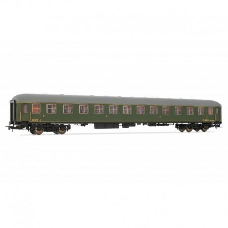 2nd class coach, BB 8536. RENFE.