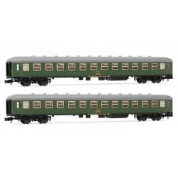 Set de coches 8000, 2a clase, RENFE.