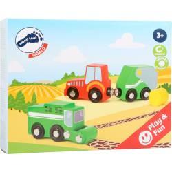 Farm vehicle set.