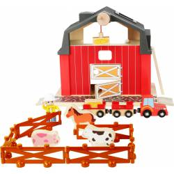 Farm with accessories.