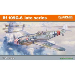 Bf 109G-6, late series.