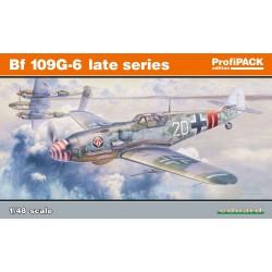 Bf 109G-6, última serie.